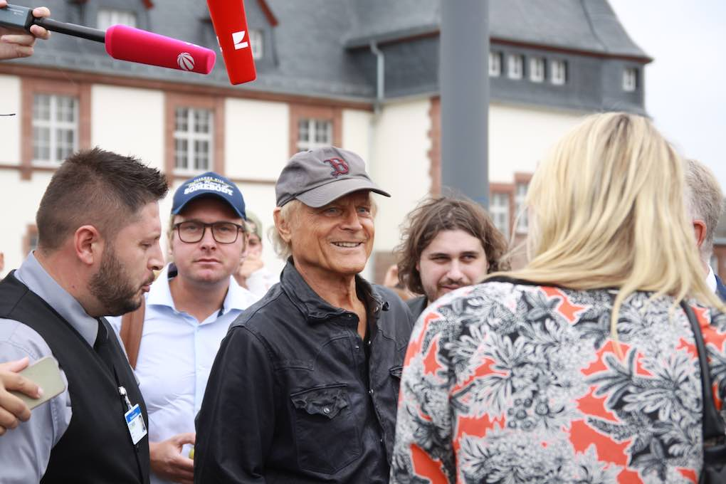 Terence Hill am 24. August 2018 in Worms 030