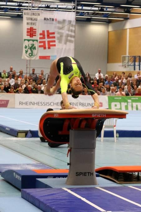 Turn-Länderkampf der Frauen am 7. September 2019 in Worms 050