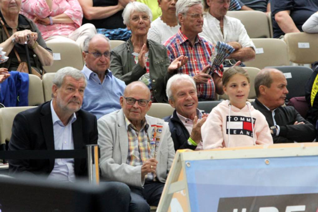 Turn-Länderkampf der Frauen am 7. September 2019 in Worms 090