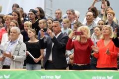 Turn-Länderkampf der Frauen am 7. September 2019 in Worms 061