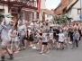 Umzug beim 70. Traubenblütenfest in Westhofen am 23. Juni