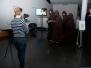 Vernissage im WORMSER mit Konzeptkunst von Sandro und Mixed Media von Julia Isabella am 7. November 2018