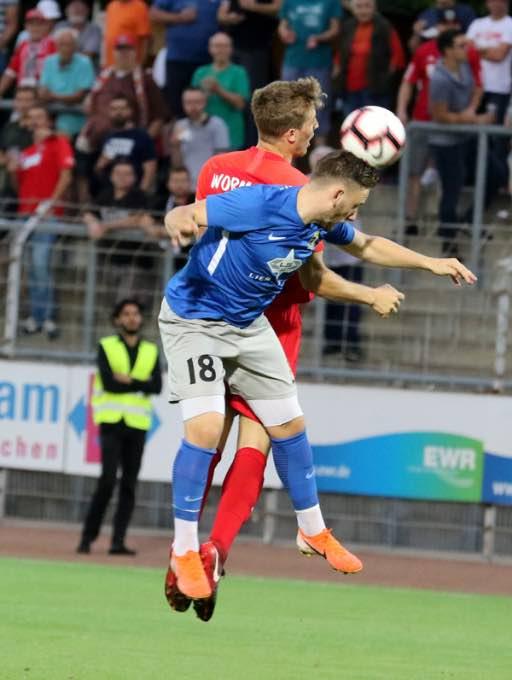 Wormatia Worms – Eintracht Trier 0-1 am 9. August 2019 005
