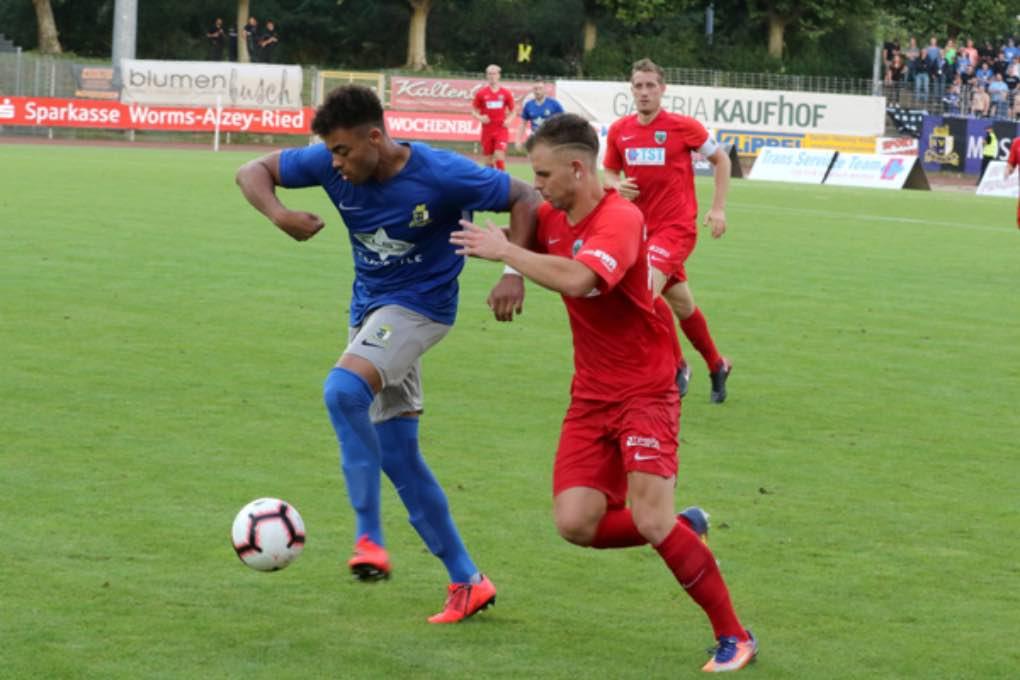 Wormatia Worms – Eintracht Trier 0-1 am 9. August 2019 019