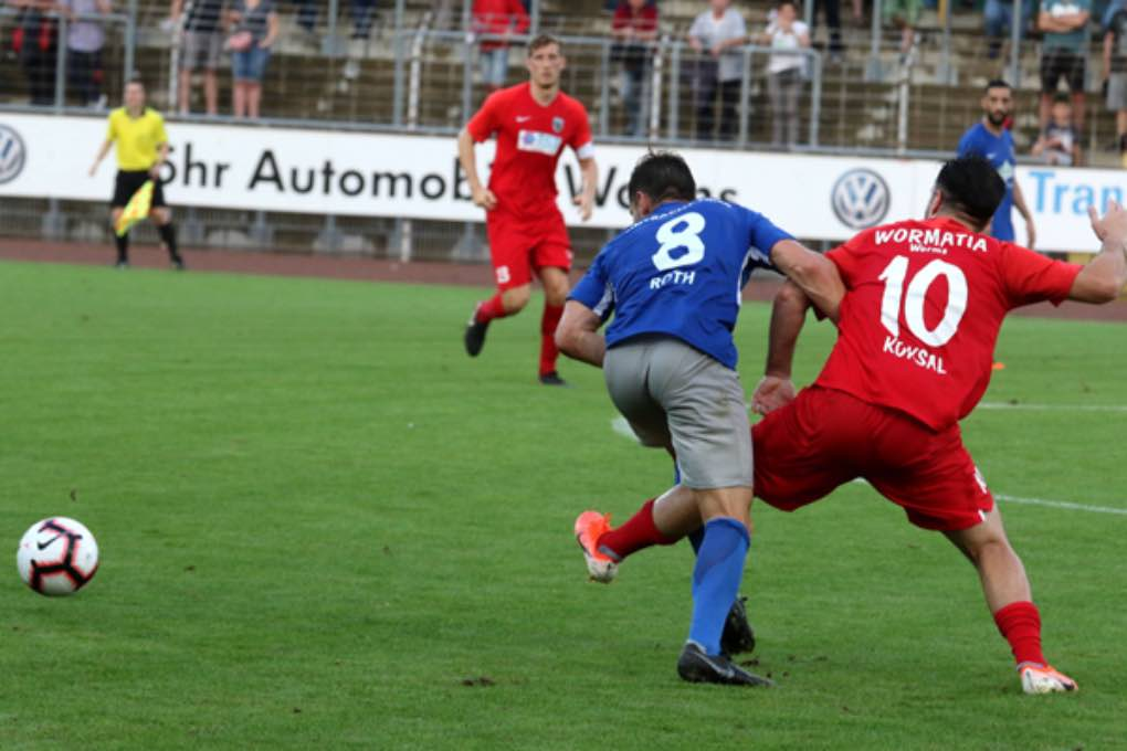 Wormatia Worms – Eintracht Trier 0-1 am 9. August 2019 033