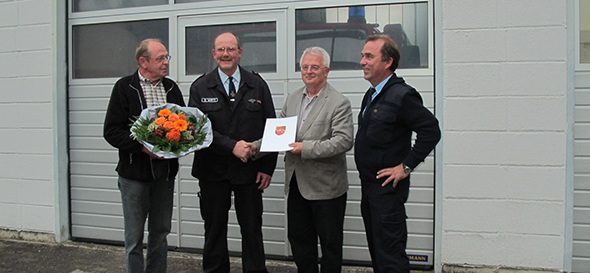 Bernhard Wirtz gibt Wehrführer-Posten ab