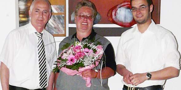 Uwe Merz,  Kristin Daleiden und Dirk Beyer (von links).