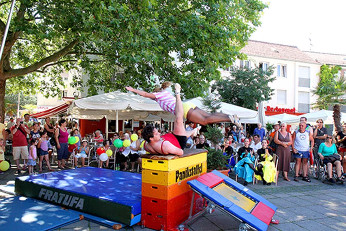 Viel zu erleben gibt es beim 2. Wormser Sporterlebnistag am Samstag, 22. Juni, in der Innenstadt.