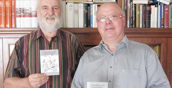 Die Autoren Hartmut Keil und Dr. Michael Finzer (von links).
