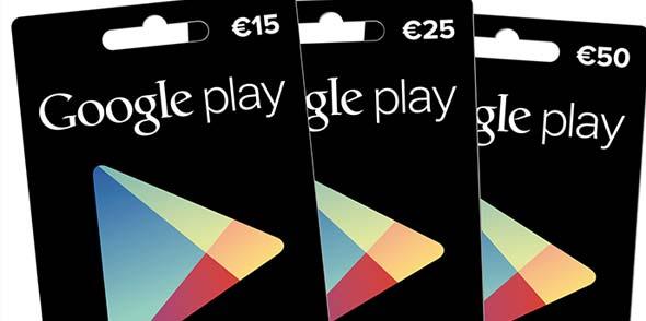 Guthabenkarte nun auch für Android-Nutzer