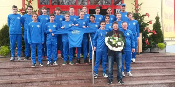 Möbel Gehrmann unterstützt die C1 und C2 des SV Horchheim