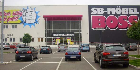 SB-Möbel BOSS öffnet  am 11. Mai ohne Flächenbeschränkung