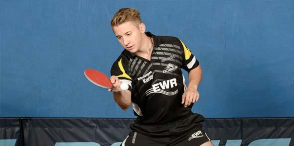 Luca Hardt wurde jüngst Rheinhessenmeister der Junioren und ist mit gerade einmal 17 Jahren schon einer der Leistungsträger beim Verbandsoberligisten TV Leiselheim II.