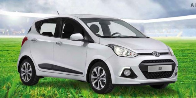 Der neue Hyundai i10 wird neben den WM-Sondermodellen am Freitag und Samstag im Mittelpunkt beim Autohaus Schläfer stehen.