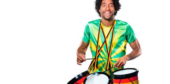 Spiel die Samba auf mir!