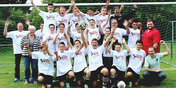 Die Meisterschaft wird am kommenden Wochenende nach dem letzten Saisonspiel natürlich gebührend gefeiert. Die  SG Altrhein bedankt sich ganz  herzlich für die Glückwünsche zur diesjährigen Meisterschaft ihrer C-Jugend und geht nun voller Zuversicht in das noch ausstehende Kreispokalfinale am 14. Juni in Flonheim.