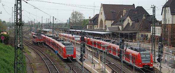 Auf welcher S-Bahn-Strecke liegt die Priorität? Nach Frankfurt oder nach Mainz und Mannheim?
