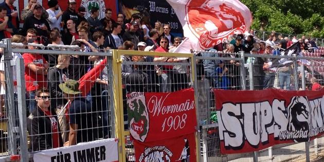 Steigt Mainz oder Großaspach auf, dann bekommen die Fans des VfR auch in der nächsten Runde Regionalliga-Fußball in der EWR-Arena präsentiert.  Foto: Steffen Heumann
