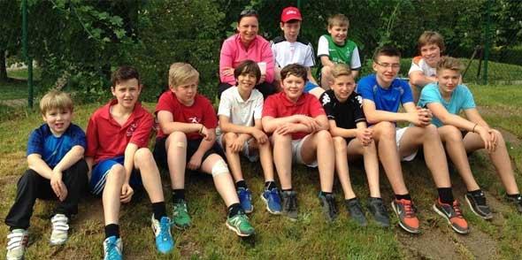 Die erfolgreichen Kids des TC Alsheim.