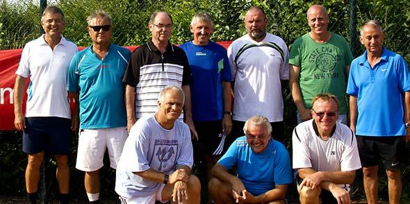 Sieger und Plazierte der Wonnegau Open 2014 Herren 55 und Herren 60.