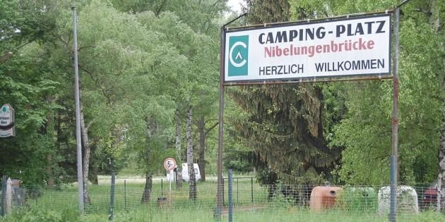 Suche nach Gelände für Campingfreunde