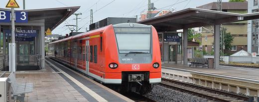Die S-Bahn wird erst ab dem Jahr 2018 nach Mainz und Mannheim rollen. Foto: Gernot Kirch