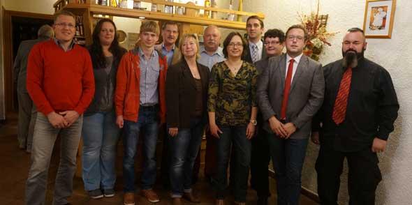 Jens Thill führt den SPD-Ortsverein Pfeddersheim