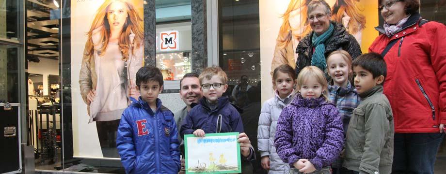 Kaiser Passage belohnt kleine Künstler