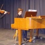 Musikalischer Akzent am Zeugnistag