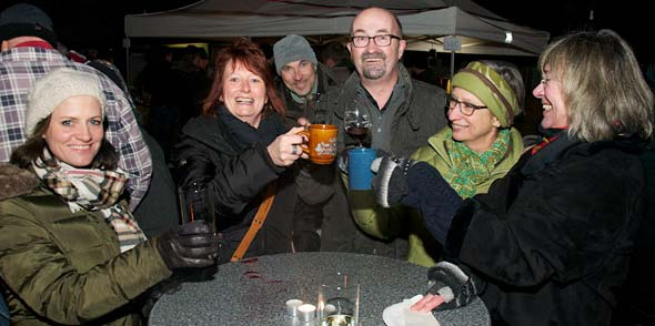 Herbert Disch (Mitte) konnte sich auch in diesem Jahr über eine gelungene Veranstaltung freuen. Foto: Robert Lehr