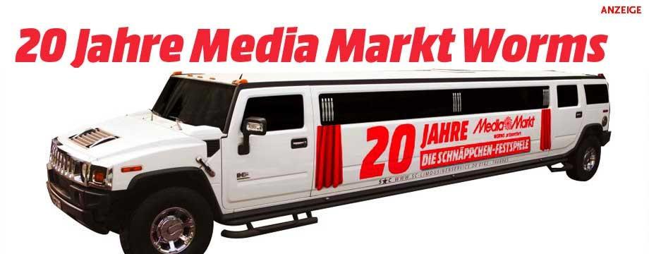 20 Jahre Media Markt Worms