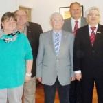 Lothar Helfrich für 65 Jahre Treue geehrt