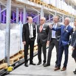 Greiwing eröffnet zwei neue Silier- und Lagerhallen am Standort Worms