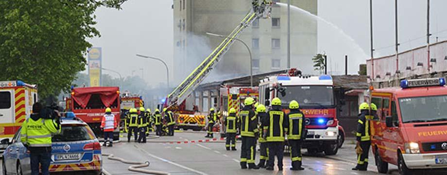 Löscharbeiten in der Klosterstraße beendet