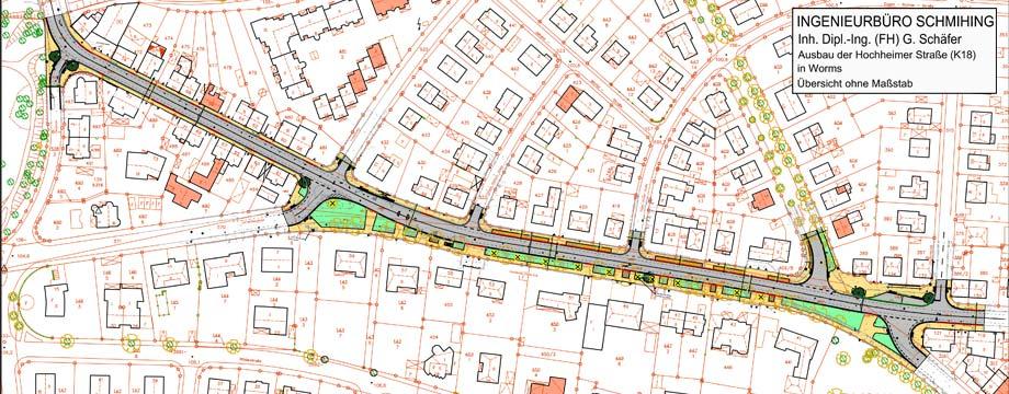 Straßenausbau der Hochheimer Straße ab Juli
