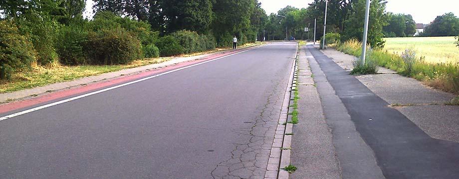 Slevogtstraße ab 7. Juli voll gesperrt!