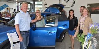 Neuer Mazda CX-3 stand im Rampenlicht