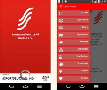 Eigene App für Wormser Sportvereine