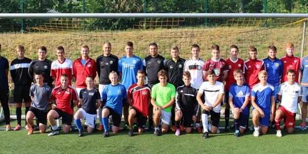 Lehrgang bestanden! Die erfolgreichen Jungtrainer des Südwestdeutschen Fußballverbandes.