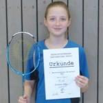 Badminton-Backfisch des 1. BC Worms startet in Gera