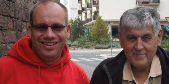 Sebastian Knopf (links) und Bernhard Elz (rechts)