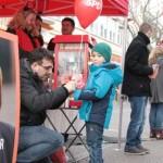 Rosen, Popcorn, Ballons und gut(h)e Laune