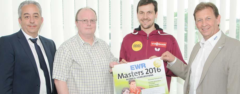 Tischtennis-Turnier vor Olympia mit Timo Boll