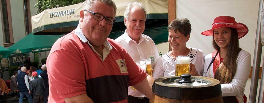 Pfiffligheim feiert vier Tage Kerb