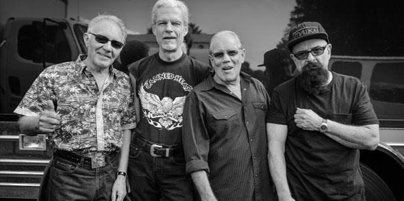 Die Könige des Boogi-Blues, Canned Heat, gastieren am 23. März 2017 in Worms. Foto: Tommy Brown