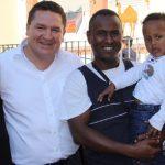 Flüchtlinge begleiteten Gimbsheimer Kerbe-Umzug