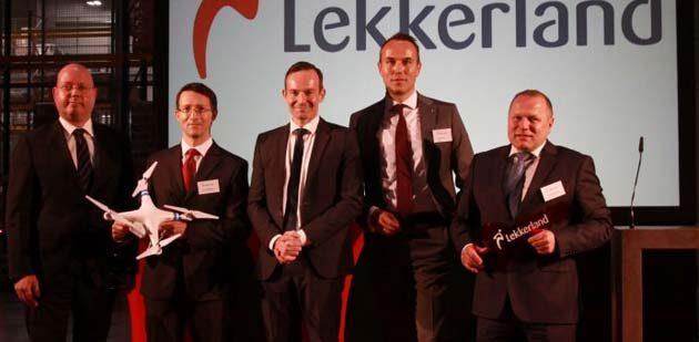 Aus 4 mach 1: Lekkerland Logistikzentrum feierlich eröffnet