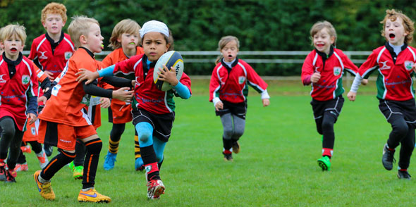 Die U8 und U10 des Wormser Rugby Club zeigten bei einem Turnier in Nürtingen ihr Können.