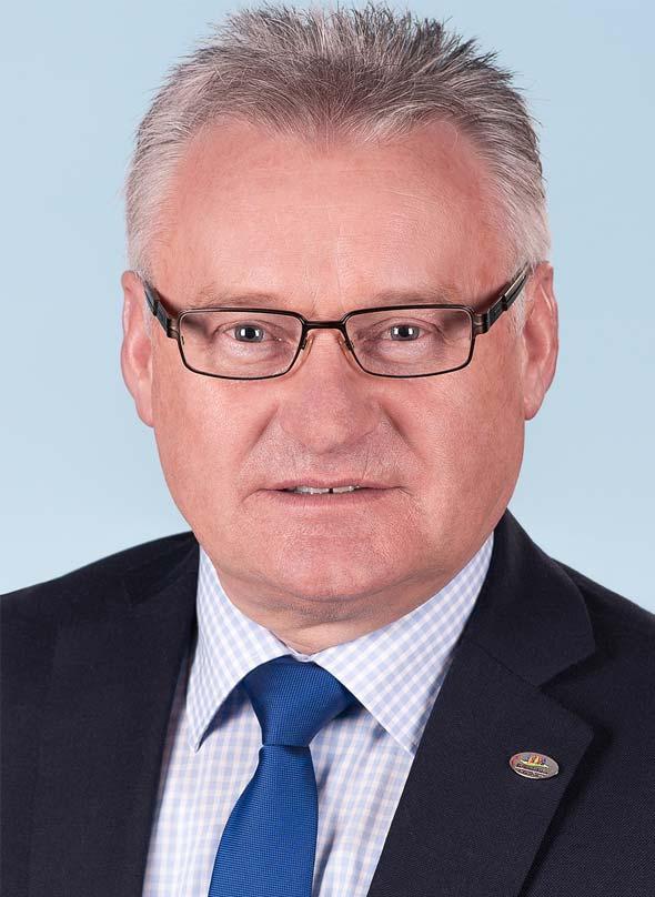 Klaus Hartmüller, Stadtbürgermeister von Kirchheimbolanden.