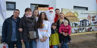 Weihnachtsfreuden beim Bauherrentag